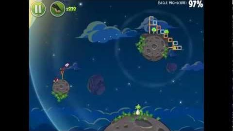 Angry Birds Space Pig Bang 1-13 Space Eagle Walkthrough