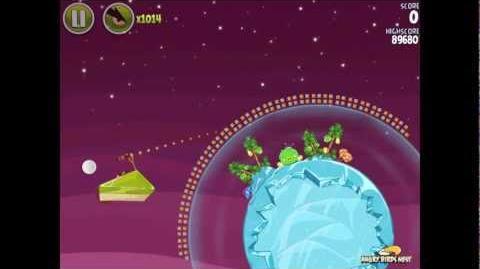 Angry Birds Space Utopia 4-13 Walkthrough 3-Star