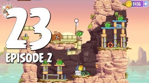 Angry Birds Stella Level 23 Episode 2 Beach Day Walkthrough