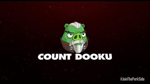 Angry Birds Star Wars 2 character reveals Count Dooku