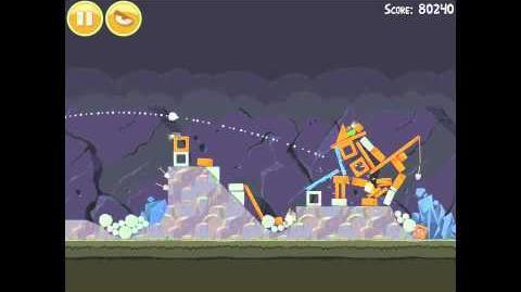 Angry Birds 17-3 Mine & Dine 3 Star Walkthrough