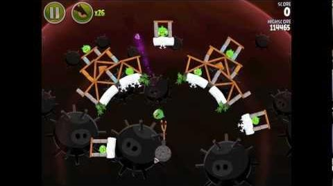 Angry Birds Space Danger Zone Level 15 Walkthrough 3 Star