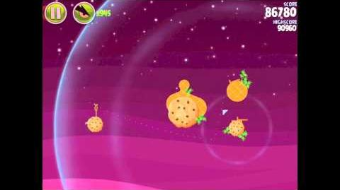 Angry Birds Space Utopia 4-26 Walkthrough 3-Star
