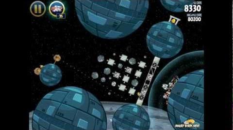 Death Star 2-33 (Angry Birds Star Wars)/Video Walkthrough