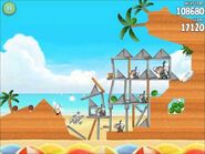 Official Angry Birds Rio Walkthrough Beach Volley 5-13