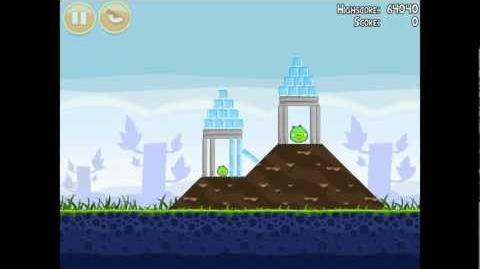 Angry Birds Poached Eggs 1-10 Walkthrough 3 Star