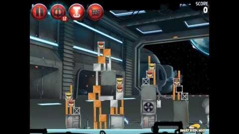 Angry Birds Star Wars 2 Level P1-10 Naboo Invasion 3 star Walkthrough