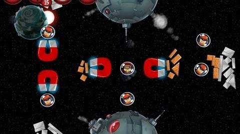 Angry Birds Star Wars 2 Bonus Level P1-S3 Naboo Invasion 3 star Walkthrough