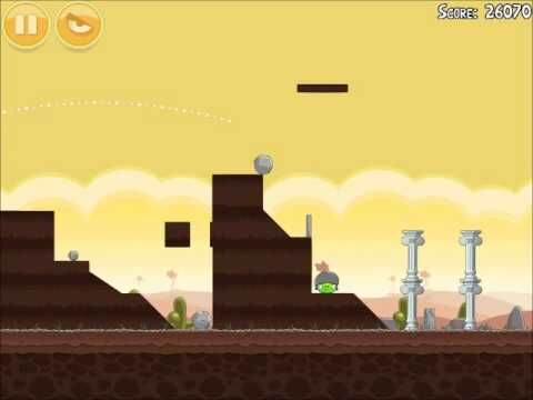 Official Angry Birds Walkthrough Poached Eggs 3-13