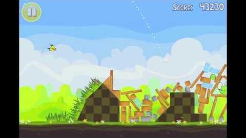 Angry Birds Seasons Easter Eggs Level 17 Walkthrough 3 Star