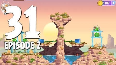 Angry Birds Stella Level 31 Episode 2 Beach Day Walkthrough
