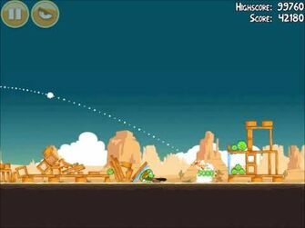Official Angry Birds Walkthrough Ham 'Em High 14-6