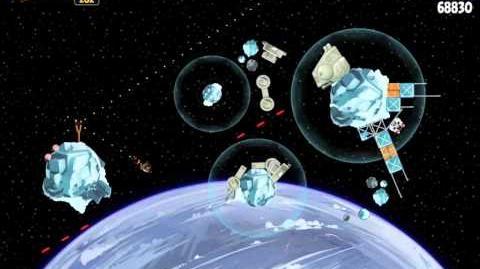 Angry Birds Star Wars 3-19 Hoth 3-Star Walkthrough