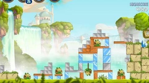 Angry Birds Star Wars 2 Level B1-5 Naboo Invasion 3 star Walkthrough