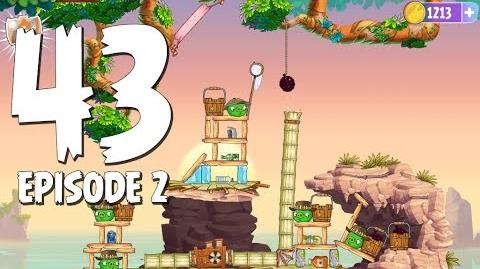 Angry Birds Stella Level 43 Episode 2 Beach Day Walkthrough