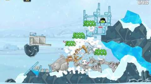 Angry Birds Star Wars 3-8 Hoth 3-Star Walkthrough