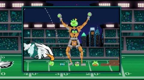 Angry Birds team up with Philadelphia Eagles!
