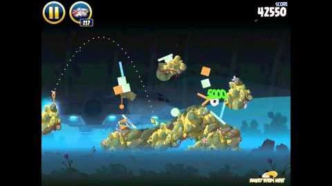 Angry Birds Star Wars 3-29 Hoth 3-Star Walkthrough