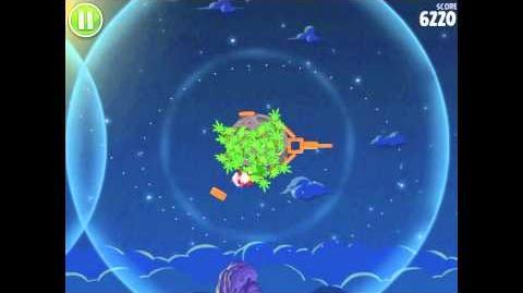 Angry Birds Space Pig Bang 1-5 Walkthrough 3-star