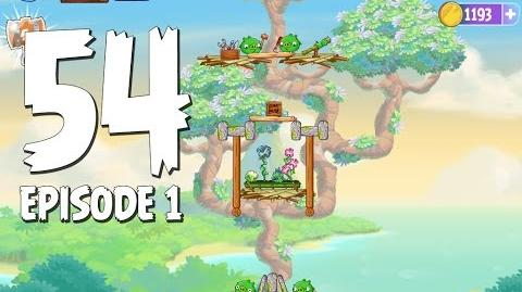 Angry Birds Stella Level 54 Walkthrough Branch Out Episode 1