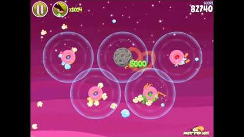 Angry Birds Space Utopia 4-20 Walkthrough 3-Star