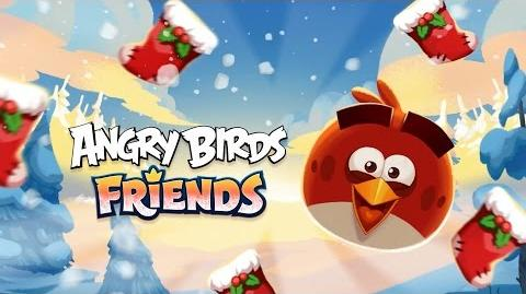 Angry Birds Friends - Hogiday Tournament