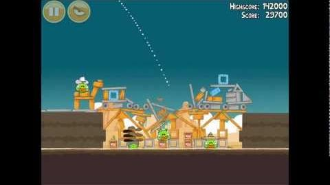 Angry Birds Ham 'em High 12-15 Walkthrough 3 Star