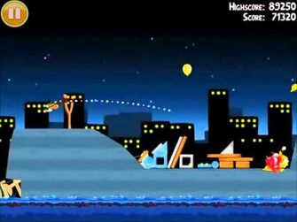 Official Angry Birds Walkthrough The Big Setup 11-15