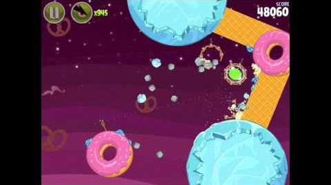 Angry Birds Space Utopia 4-22 Walkthrough 3-Star