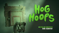 Hog Hoops Title Card