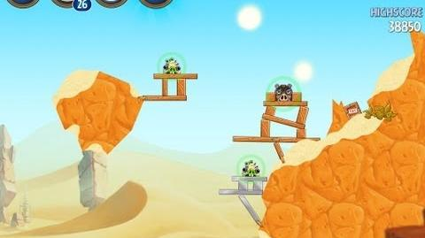 Angry Birds Star Wars 2 Level B2-6 Escape To Tatooine 3 star Walkthrough