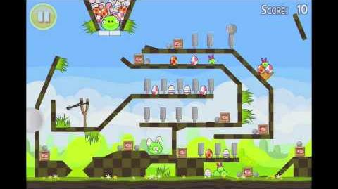 Angry Birds Seasons Easter Eggs Golden Egg 19 Walkthrough