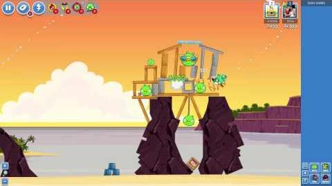 Pigini Beach! New levels in Angry Birds Friends