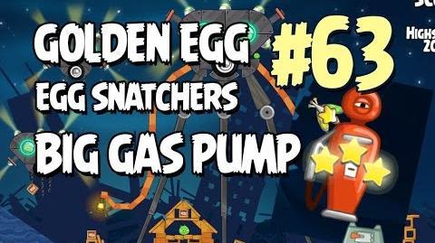 Angry Birds Seasons Invasion of the Egg Snatchers Golden Egg 63 Walkthrough