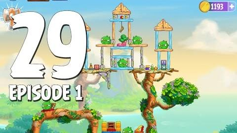 Angry Birds Stella Level 29 Walkthrough Branch Out Episode 1