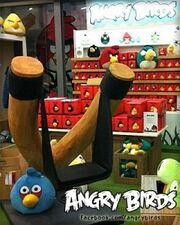 Angry Birds Store Slingshot