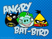Angry bat bird by olechka01-d3jeaky