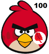 Red-AngryBirdsvsZombies
