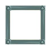 Cinematic version-metal square