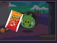 Pig with Cheetos