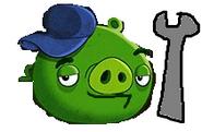 Mechanic Pig Bad Piggies 2