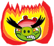 Ultra raged-out Angry mad pig