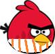 Red Bird with Pyjamas
