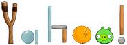Yahoo Angry Birds Logo