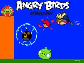 Angry Birds Wingman loading screen