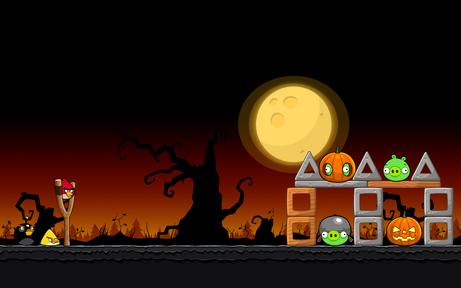 Angry Birds Seasons - Level 4-1 - Trick or Treat II