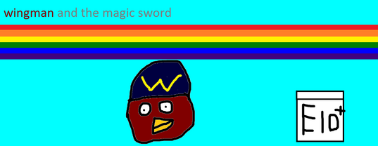 Wingman and the magic sword