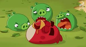 Pigs win in episode 3