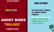 Angry Birds Comics 1 pages 1