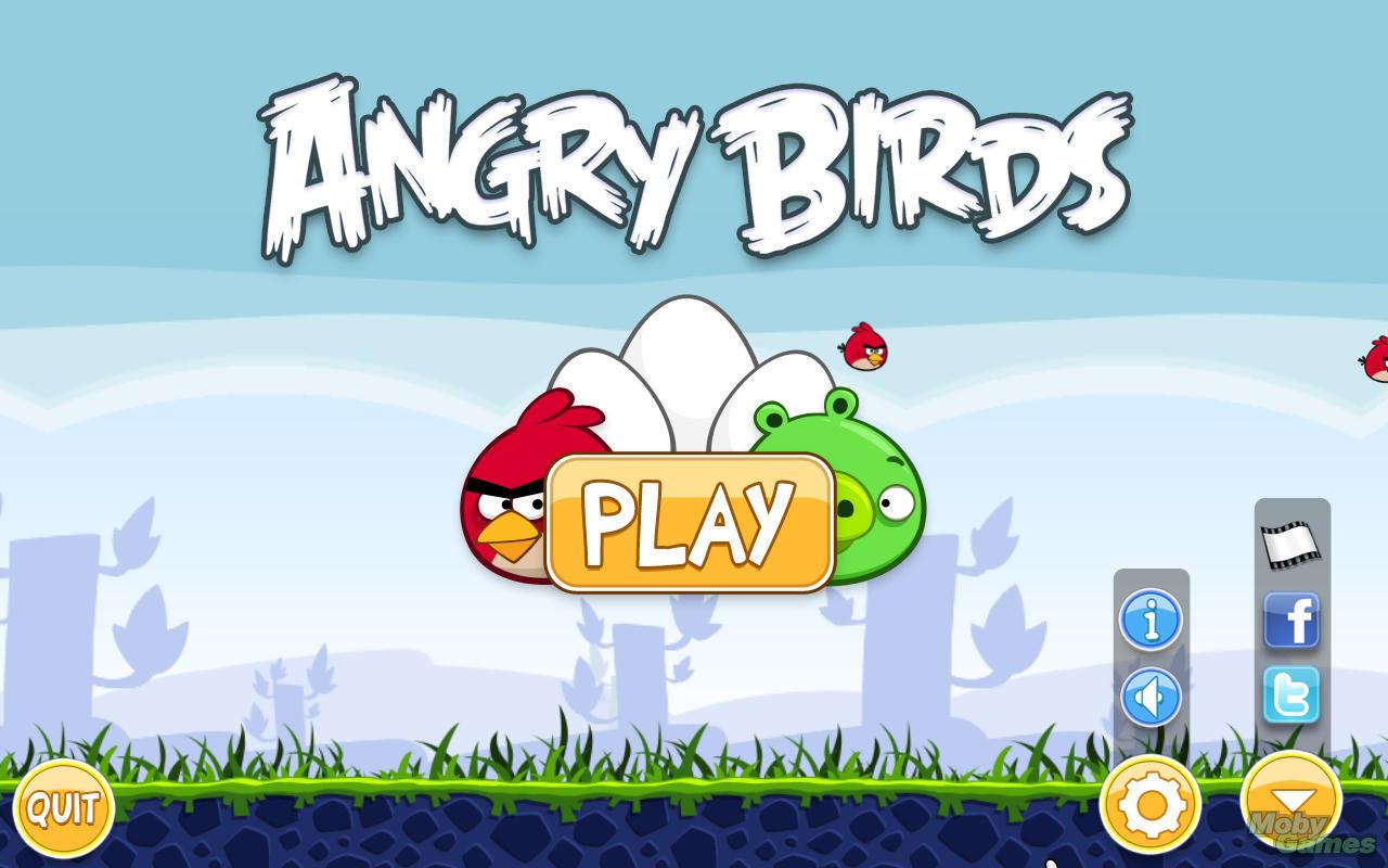 Playable Angry Birds